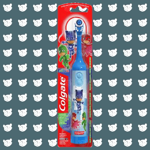 Детская электрическая зубная щетка Colgate 'Герои в масках' Алматы, Астана, Шымкент, Караганда купить в магазине игрушек LEMUR.KZ