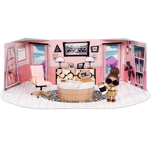 Набор мебели L.O.L. Surprise! Школьный офис с куклой Boss Queen Костанай, Атырау, Павлодар, Актобе, Петропавловск купить в магазине игрушек LEMUR.KZ