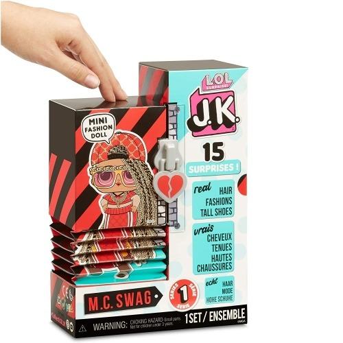 Кукла L.O.L. Surprise! Мини Модницы - JK MC Swag Алматы, Астана, Шымкент, Караганда купить в магазине игрушек LEMUR.KZ