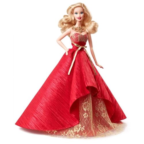 Коллекционная праздничная кукла Барби Алматы, Астана, Шымкент, Караганда купить в магазине игрушек LEMUR.KZ