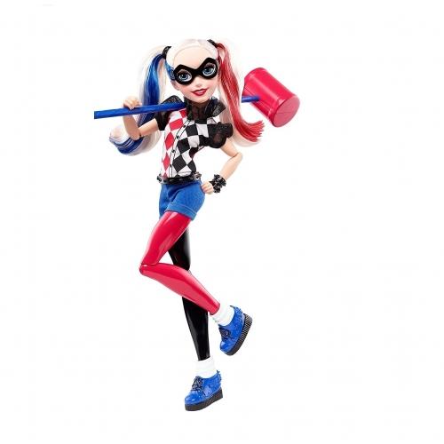 Кукла 'Супергероини' Харли Квин, 30 см Алматы, Астана, Шымкент, Караганда купить в магазине игрушек LEMUR.KZ