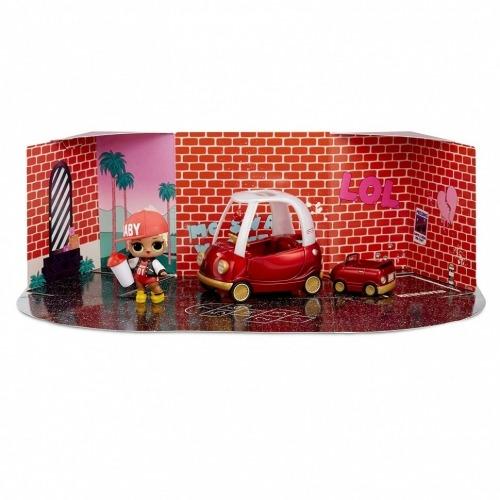 Набор мебели L.O.L. Surprise! 'Уютное купе' с эксклюзивной куклой MC Swag Алматы, Астана, Шымкент, Караганда купить в магазине игрушек LEMUR.KZ