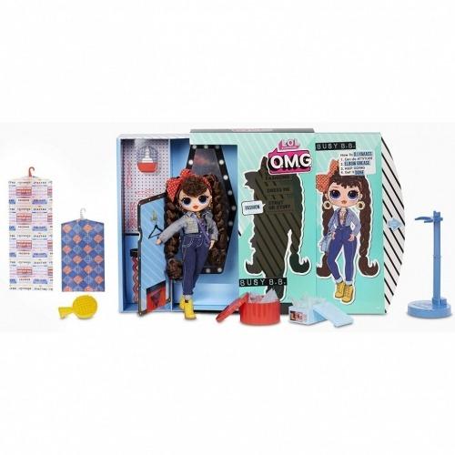 Большая фешн кукла L.O.L. Surprise! O.M.G. Busy B.B. Усть Каменогорск, Актау, Кокшетау, Семей, Тараз купить в магазине игрушек LEMUR.KZ