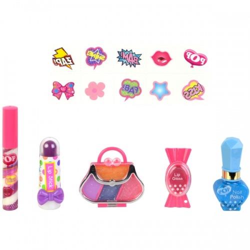 Игровой набор детской косметики для губ и ногтей Уральск, Жезказган, Кызылорда, Талдыкорган, Экибастуз купить в магазине игрушек LEMUR.KZ