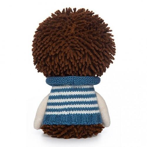 Мягкая игрушка Ёжик Игоша в свитере - код 7538