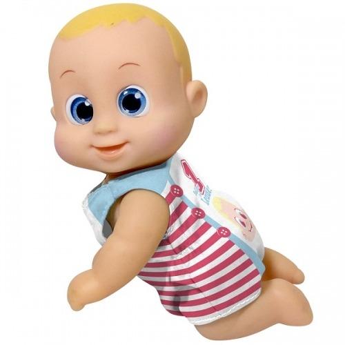 Bouncin' Babies Кукла Баниэль 16 см ползущая Усть Каменогорск, Актау, Кокшетау, Семей, Тараз купить в магазине игрушек LEMUR.KZ