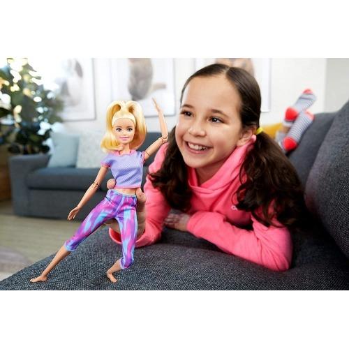 Кукла Барби 'Безграничные движения' блондинка (новинка) Усть Каменогорск, Актау, Кокшетау, Семей, Тараз купить в магазине игрушек LEMUR.KZ
