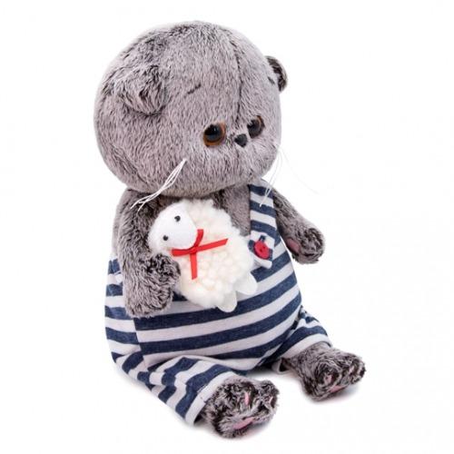 Мягкая игрушка Басик Baby с овечкой Алматы, Астана, Шымкент, Караганда купить в магазине игрушек LEMUR.KZ
