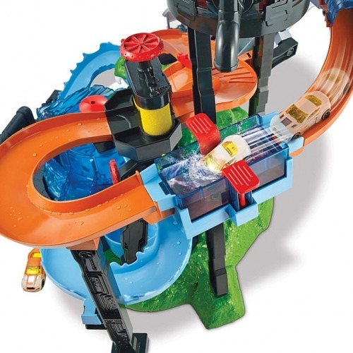Игровой набор Hot Wheels с Крокодилом и водонапорной башней - код 7547