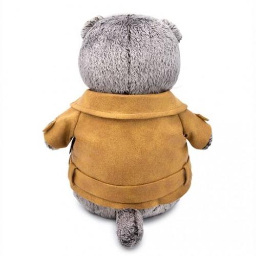 Мягкая игрушка Басик в куртке-косухе Уральск, Жезказган, Кызылорда, Талдыкорган, Экибастуз купить в магазине игрушек LEMUR.KZ