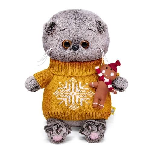 Мягкая игрушка Басик Baby в оранжевом свитере Алматы, Астана, Шымкент, Караганда купить в магазине игрушек LEMUR.KZ