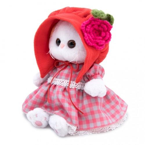 Мягкая игрушка Кошечка Ли-Ли Baby в красной шапочке Алматы, Астана, Шымкент, Караганда купить в магазине игрушек LEMUR.KZ