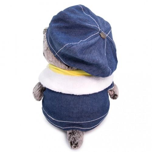 Мягкая игрушка Басик Baby в джинсовом жилете Костанай, Атырау, Павлодар, Актобе, Петропавловск купить в магазине игрушек LEMUR.KZ