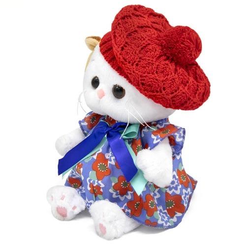 Мягкая игрушка Кошечка Ли-Ли Baby в платье и ажурном берете Усть Каменогорск, Актау, Кокшетау, Семей, Тараз купить в магазине игрушек LEMUR.KZ