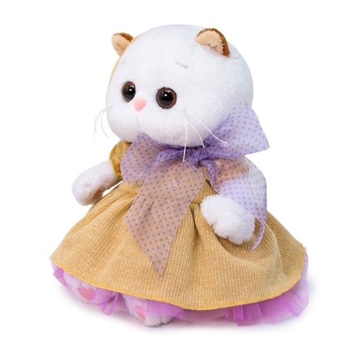 Мягкая игрушка Кошечка Ли-Ли Baby в золотом платье Алматы, Астана, Шымкент, Караганда купить в магазине игрушек LEMUR.KZ