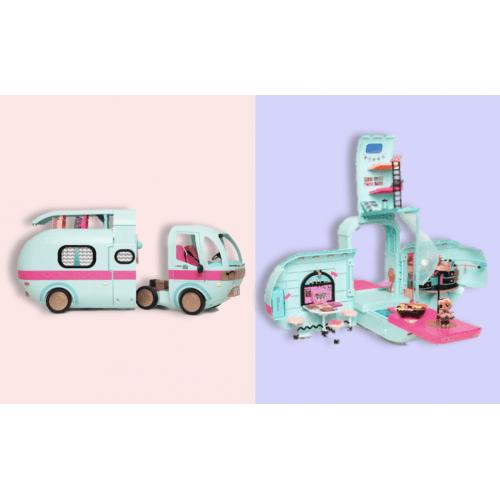 L.O.L. Surprise! Кемпер автобус - дом (оригинал) Алматы, Астана, Шымкент, Караганда купить в магазине игрушек LEMUR.KZ