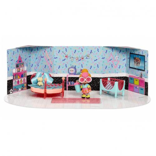 Набор мебели L.O.L. Surprise! Набор мебели с эксклюзивной куклой Neon Q.T. Алматы, Астана, Шымкент, Караганда купить в магазине игрушек LEMUR.KZ