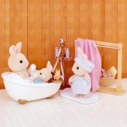 Sylvanian Families 'Ванная комната, мини' Усть Каменогорск, Актау, Кокшетау, Семей, Тараз купить в магазине игрушек LEMUR.KZ