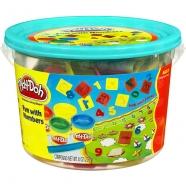 Игровой Play-Doh в ведерке Числа Алматы, Астана, Шымкент, Караганда купить в магазине игрушек LEMUR.KZ