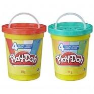 Игровой набор Play-Doh Большая банка 4 цвета Усть Каменогорск, Актау, Кокшетау, Семей, Тараз купить в магазине игрушек LEMUR.KZ