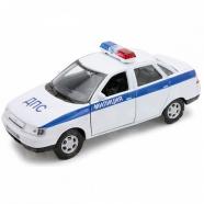 Welly модель машины  1:34-39 Lada Priora полиция Костанай, Атырау, Павлодар, Актобе, Петропавловск купить в магазине игрушек LEMUR.KZ