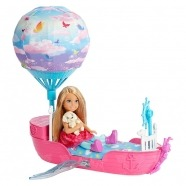 Игровой набор Барби 'Челси и ее сказочный корабль' Алматы, Астана, Шымкент, Караганда купить в магазине игрушек LEMUR.KZ