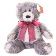 Мягкая игрушка Aurora Медведь серый 20 см Алматы, Астана, Шымкент, Караганда купить в магазине игрушек LEMUR.KZ