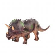 Фигурка динозавра,Трицератопс, 18х49 см Уральск, Жезказган, Кызылорда, Талдыкорган, Экибастуз купить в магазине игрушек LEMUR.KZ