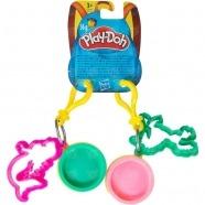 Набор-брелок Play-Doh Баночка и штамп Алматы, Астана, Шымкент, Караганда купить в магазине игрушек LEMUR.KZ