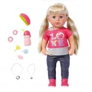 Baby Born Кукла Сестричка, 43 см Костанай, Атырау, Павлодар, Актобе, Петропавловск купить в магазине игрушек LEMUR.KZ