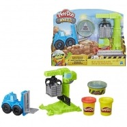 Игровой набор Play-Doh 'Кран-Погрузчик' Алматы, Астана, Шымкент, Караганда купить в магазине игрушек LEMUR.KZ