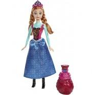 Кукла Анна в платье меняющем цвет 'Холодное Сердце' Алматы, Астана, Шымкент, Караганда купить в магазине игрушек LEMUR.KZ