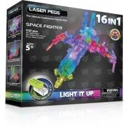 Laser Pegs: 16 в 1. Космос Костанай, Атырау, Павлодар, Актобе, Петропавловск купить в магазине игрушек LEMUR.KZ