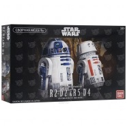 Сборная модель дроидов R2-D2 и R5-D4 'Звездные войны', 1:12 Костанай, Атырау, Павлодар, Актобе, Петропавловск купить в магазине игрушек LEMUR.KZ