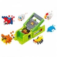 Qixels 3D Машинка для создания 3D фигурок '3D Принтер' Костанай, Атырау, Павлодар, Актобе, Петропавловск купить в магазине игрушек LEMUR.KZ