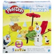 Игровой Play-Doh 'Холодное сердце. Летние приключение Олафа' Костанай, Атырау, Павлодар, Актобе, Петропавловск купить в магазине игрушек LEMUR.KZ