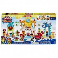 Игровой Play-Doh Town (Город) 'Главная улица' Усть Каменогорск, Актау, Кокшетау, Семей, Тараз купить в магазине игрушек LEMUR.KZ