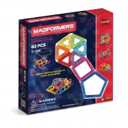 Магнитный конструктор Magformers 62 'Базовый набор' Алматы, Астана, Шымкент, Караганда купить в магазине игрушек LEMUR.KZ