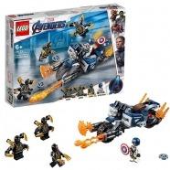 LEGO: Капитан Америка Атака Аутрайдеров Уральск, Жезказган, Кызылорда, Талдыкорган, Экибастуз купить в магазине игрушек LEMUR.KZ