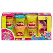 Набор Play-Doh 6 баночек Усть Каменогорск, Актау, Кокшетау, Семей, Тараз купить в магазине игрушек LEMUR.KZ