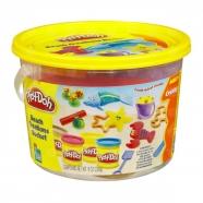 Игровой Play-Doh в ведерке 'Пляж' Костанай, Атырау, Павлодар, Актобе, Петропавловск купить в магазине игрушек LEMUR.KZ