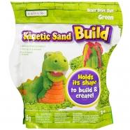 Кинетический песок Kinetic Sand из серии 'Build' (вес - 454 гр.) - зеленый Уральск, Жезказган, Кызылорда, Талдыкорган, Экибастуз купить в магазине игрушек LEMUR.KZ