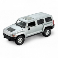 Welly модель машины 1:32 Hummer H3 Костанай, Атырау, Павлодар, Актобе, Петропавловск купить в магазине игрушек LEMUR.KZ