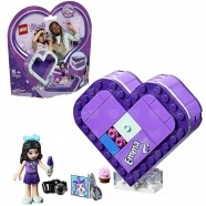LEGO: Шкатулка-сердечко Эммы Алматы, Астана, Шымкент, Караганда купить в магазине игрушек LEMUR.KZ