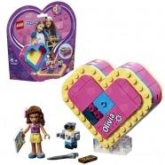 LEGO: Шкатулка-сердечко Оливии Усть Каменогорск, Актау, Кокшетау, Семей, Тараз купить в магазине игрушек LEMUR.KZ