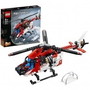 LEGO: Спасательный вертолёт Костанай, Атырау, Павлодар, Актобе, Петропавловск купить в магазине игрушек LEMUR.KZ