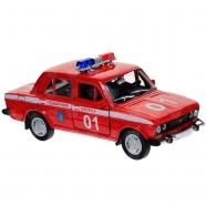 Welly модель машины  1:34-39 Lada 2107 пожарная охрана Костанай, Атырау, Павлодар, Актобе, Петропавловск купить в магазине игрушек LEMUR.KZ