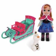 Игровой набор Холодное Сердце 'Приключение Анны', 50 см Алматы, Астана, Шымкент, Караганда купить в магазине игрушек LEMUR.KZ
