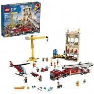 LEGO: Пожарные: Центральная пожарная станция Костанай, Атырау, Павлодар, Актобе, Петропавловск купить в магазине игрушек LEMUR.KZ