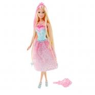 Барби Принцесса с длинными светлыми волосами Костанай, Атырау, Павлодар, Актобе, Петропавловск купить в магазине игрушек LEMUR.KZ
